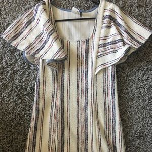 Striped anthro dress!